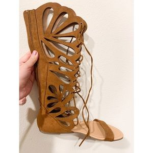 💕Lace up Gladiator Sandals